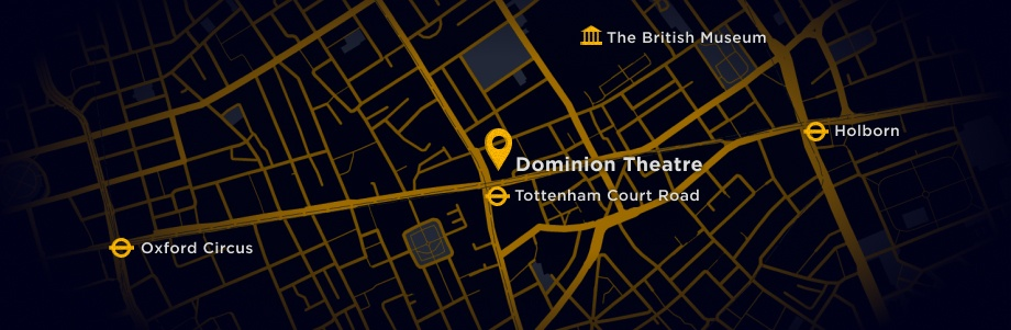 Map to find Dominion Theatre